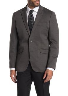Kenneth Cole Heathered Dark Grey Slim Fit Evening Jacket