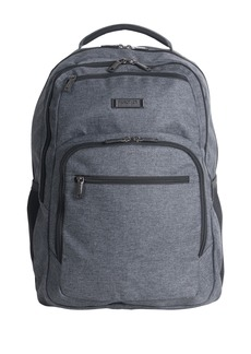 "Kenneth Cole Heathered Triple Compartment 17.3"" Computer Business Backpack"