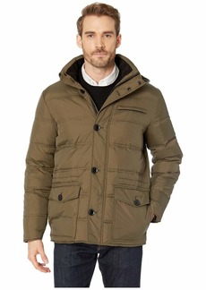 Kenneth Cole Heavyweight Hooded Parka Puffer