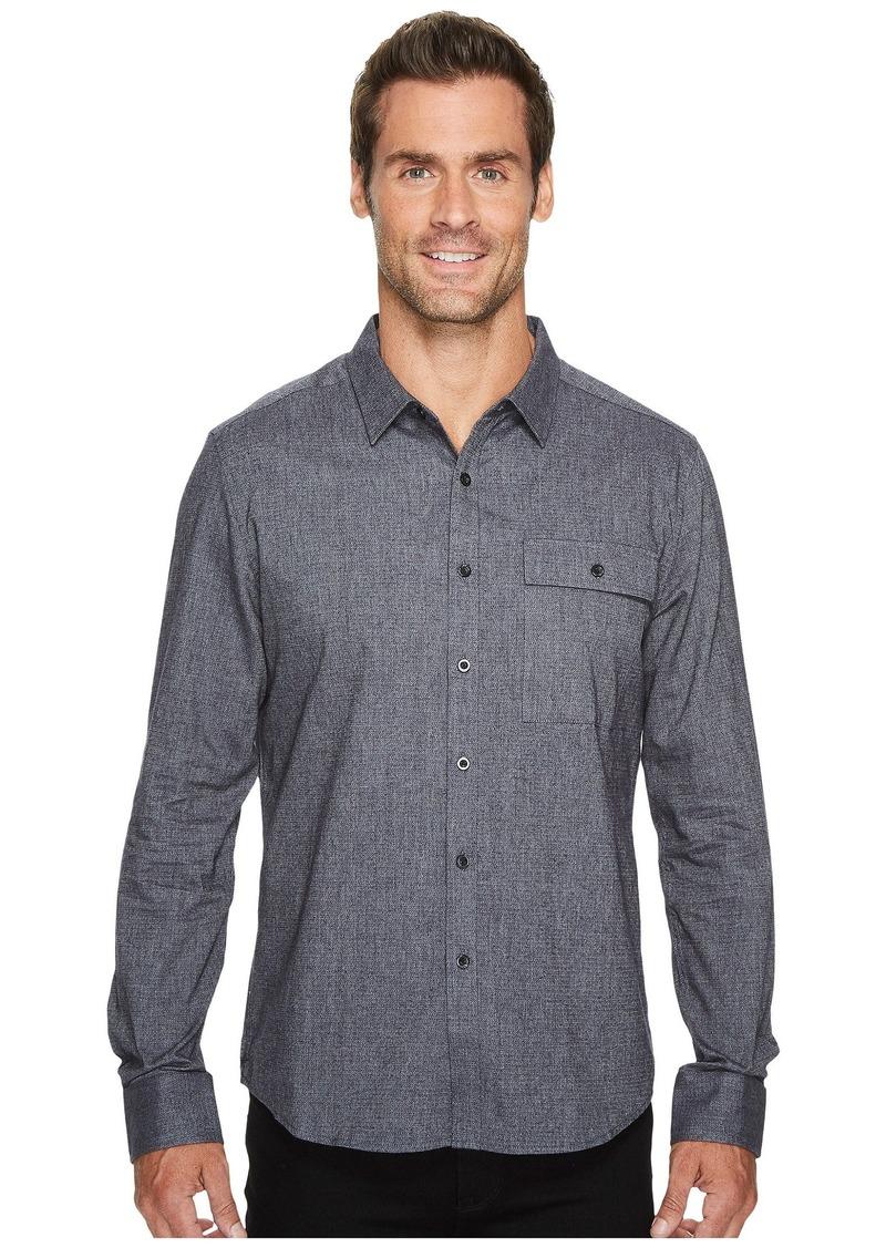Kenneth Cole Herringbone Shirt