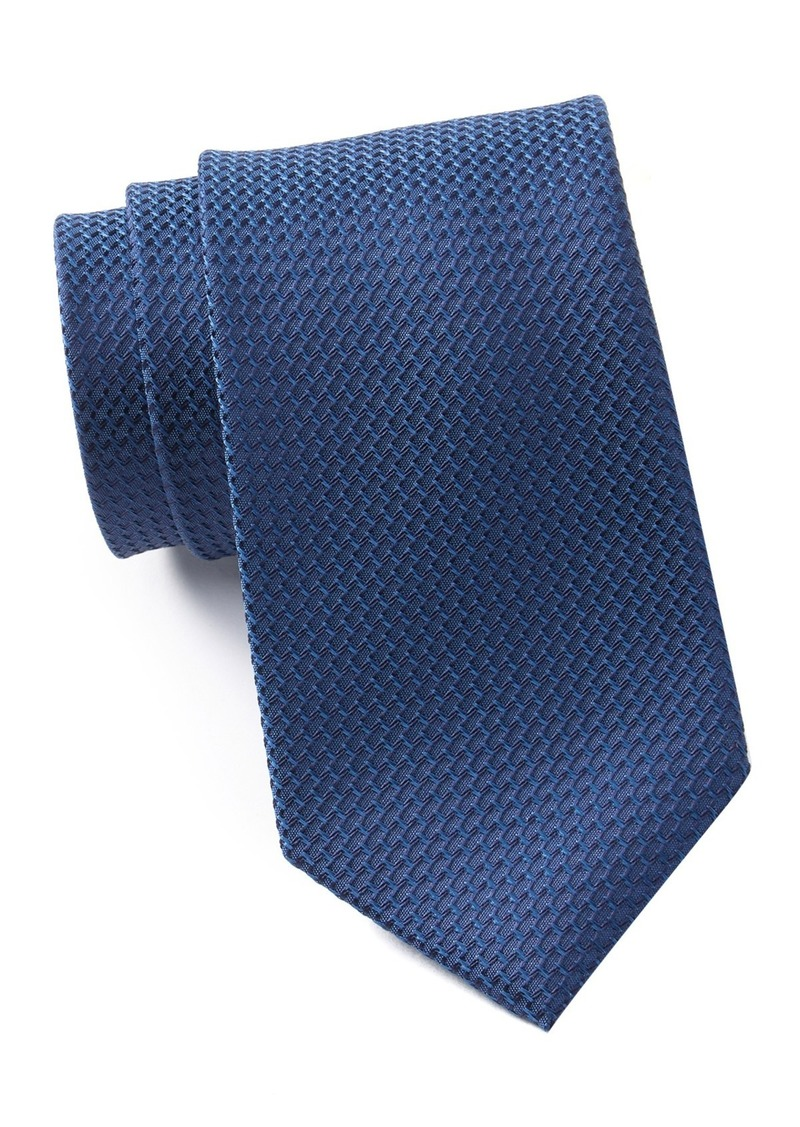 Kenneth Cole Solid Silk Blend Tie