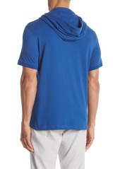 Kenneth Cole Hooded Short Sleeve Henley