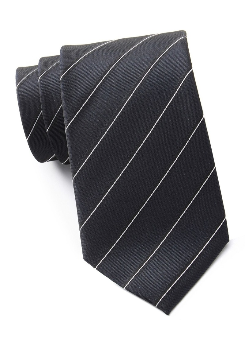 Kenneth Cole Iridescent Simple Silk Blend Tie