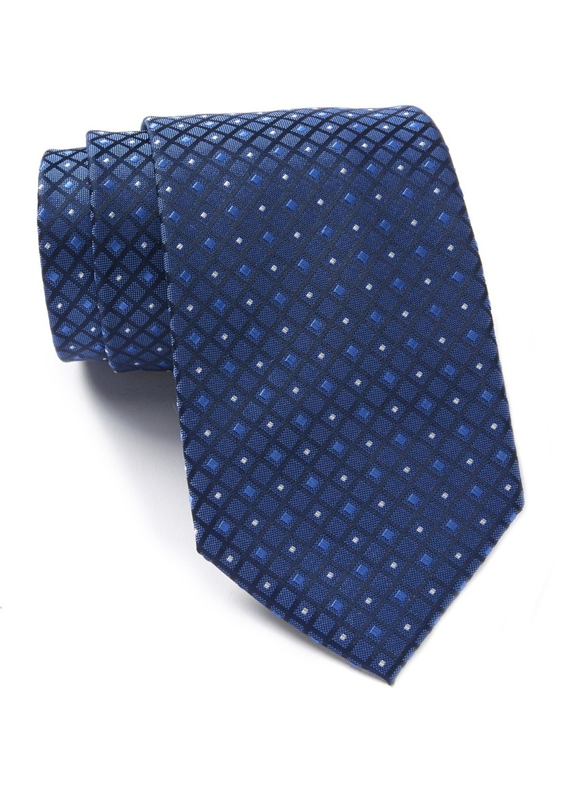 Kenneth Cole James Micro Diamond Grid Tie