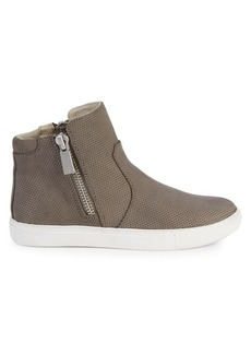 Kenneth Cole Kaia Leather Sneaker Boots