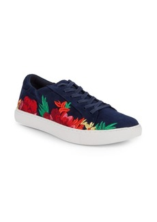 Kenneth Cole Kam Floral Embroidered Sneakers