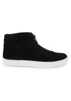 Kenneth Cole Kayla Suede Zip High-Top Sneakers