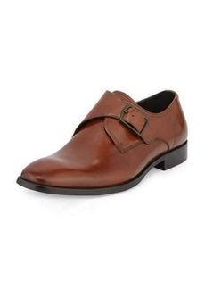 Kenneth Cole 1 Way Ticket Monk-Strap Leather Loafer