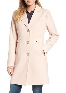 Kenneth Cole A-Line Ponte Coat (Regular & Petite)
