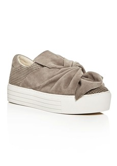 Kenneth Cole Aaron Knot Platform Slip-On Sneakers