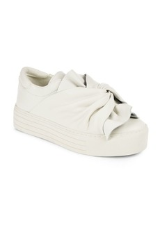 Kenneth Cole Alessa Twisted Knot Flatform Sneaker