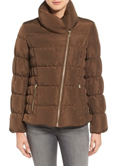 Kenneth Cole Asymmetrical Puffer Jacket