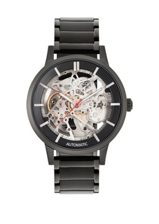 Kenneth Cole Automatic Stainless Steel Bracelet Watch