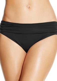 Kenneth Cole Banded Hipster Bikini Bottoms Women's Swimsuit