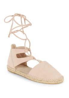 Kenneth Cole Beverly Lace-Up Espadrille Flats