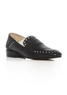Kenneth Cole Bowan Studded Square Toe Loafers