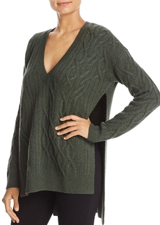 Kenneth Cole Cable Knit Tunic