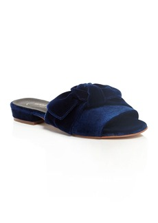 Kenneth Cole Candice Velvet Slide Sandals