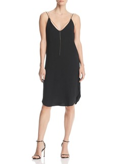 Kenneth Cole Chain Detail Slip Dress