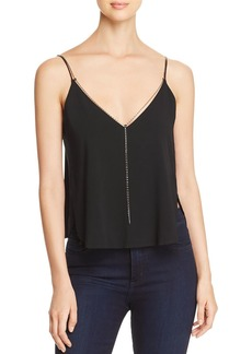 Kenneth Cole Chain-Trimmed Camisole Top