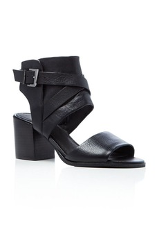 Kenneth Cole Chara Buckled Mid Heel Sandals