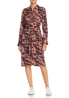 Kenneth Cole City Camo Stripe Shirt Dress