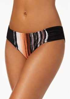Kenneth Cole City Silhouette Printed Hipster Bikini Bottoms Women's Swimsuit