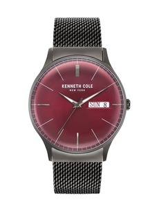 Kenneth Cole Classic Logo Stainless Steel Bracelet Watch