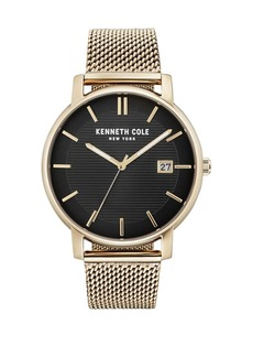 Kenneth Cole Classic Stainless Steel Mesh Bracelet Watch