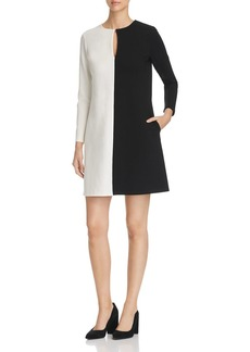 Kenneth Cole Color Block Shift Dress
