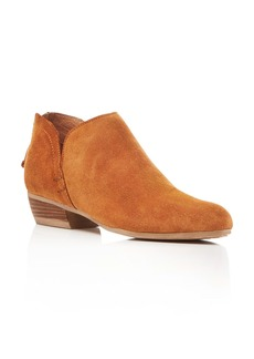 Kenneth Cole Cooper Side Notch Almond Toe Booties