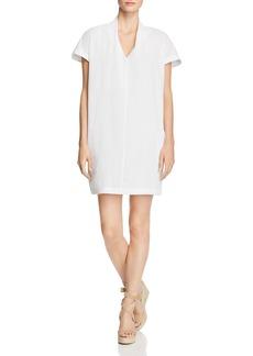 Kenneth Cole Cotton Gauze Shift Dress