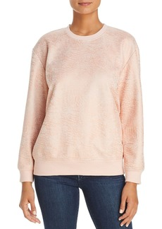 Kenneth Cole Crinkle Texture Sweatshirt