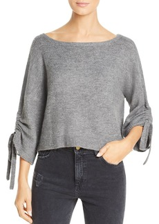 Kenneth Cole Cropped Boat-Neck Sweater