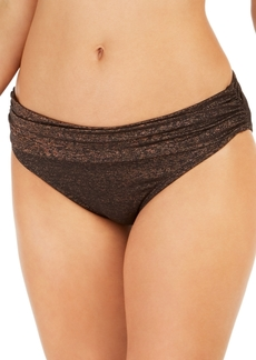 Kenneth Cole Day Glow Ruched Hipster Bikini Bottoms Women's Swimsuit