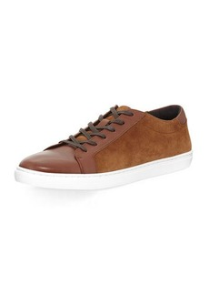 Kenneth Cole Design Mixed Lace-Up Sneaker