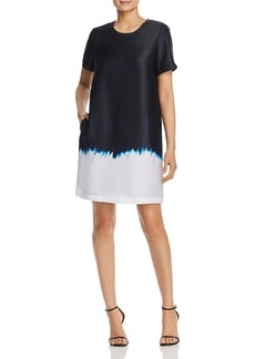 Kenneth Cole Dip-Dyed Shift Dress
