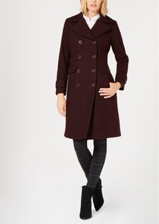 Kenneth Cole Double-Breasted Peacoat