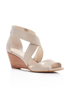 Kenneth Cole Drina Crisscross Wedge Sandals
