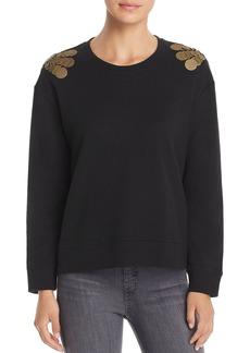 Kenneth Cole Embellished Sweatshirt
