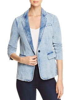 Kenneth Cole Faded Knit Blazer