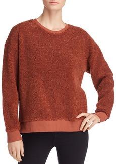 Kenneth Cole Faux Shearling Sweatshirt