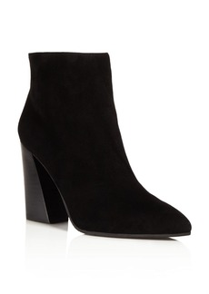 Kenneth Cole Gladis Flared Block Heel Booties