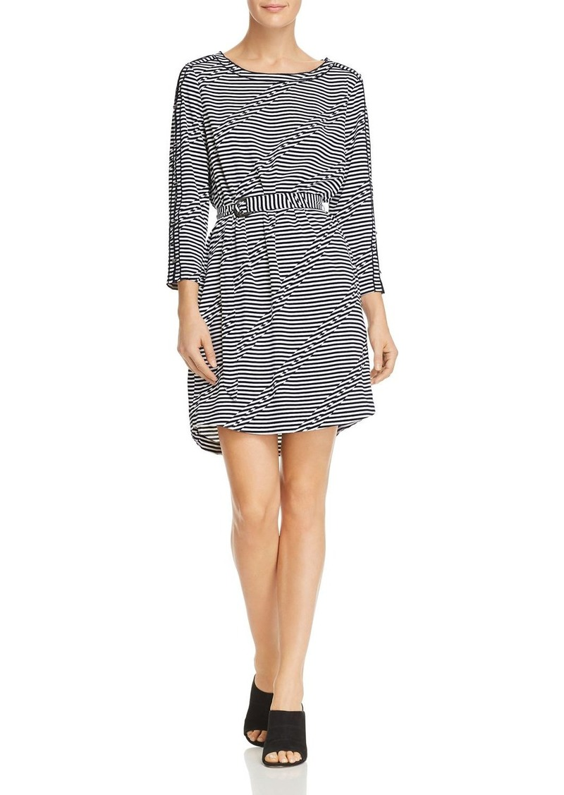 Kenneth Cole Graphic-Stripe Dress