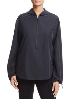 Kenneth Cole Hooded Half-Zip Sweatshirt