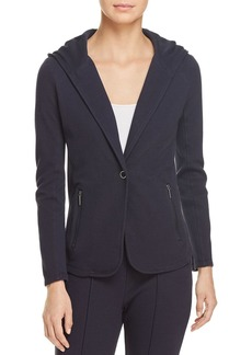 Kenneth Cole Hooded Knit Blazer