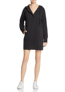 Kenneth Cole Hooded Sweatshirt Dress