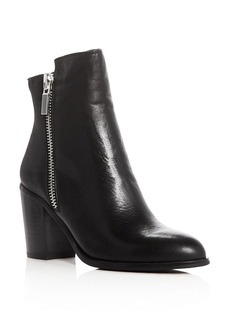 Kenneth Cole Ingrid Double Zip High Heel Booties