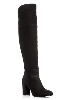 Kenneth Cole Women's Jack Nubuck Leather Over-the-Knee Boots