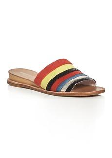 Kenneth Cole Janie Demi Wedge Slide Sandals